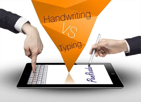 نوشتن با دست
