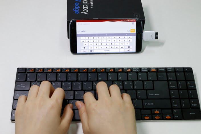 اتصال کیبرد به گوشی و تبلت